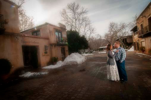 Sedona Engagement Portrait Photographer