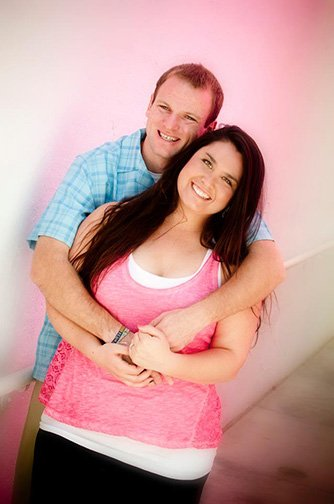 Mary and Josh Have Engagement Portraits Taken at Scottsdale Center For The Arts