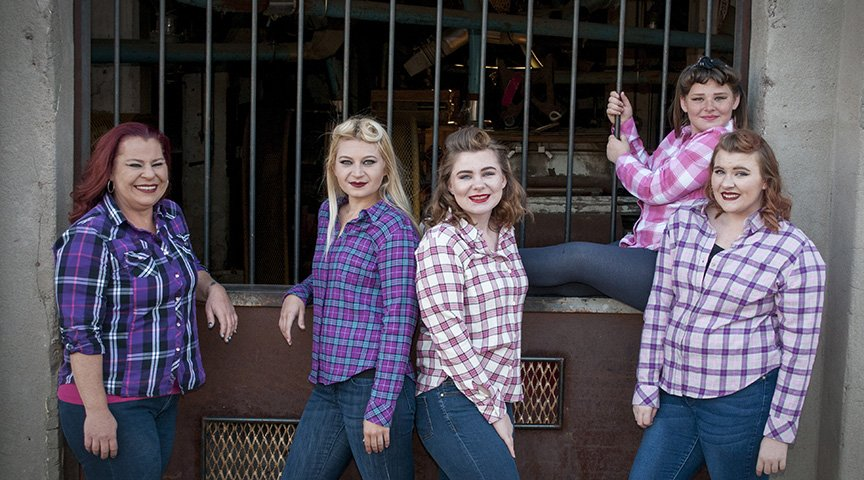 Tempe Portrait Photographer Photographs a Mother and Four Daughters on a Special Day