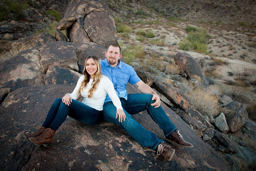 Engagement Photographs South Mountain Phoenix