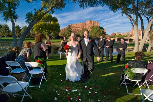 Wedding Oak Creek Country Club