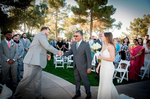 Wedding Ocotillo Golf Club