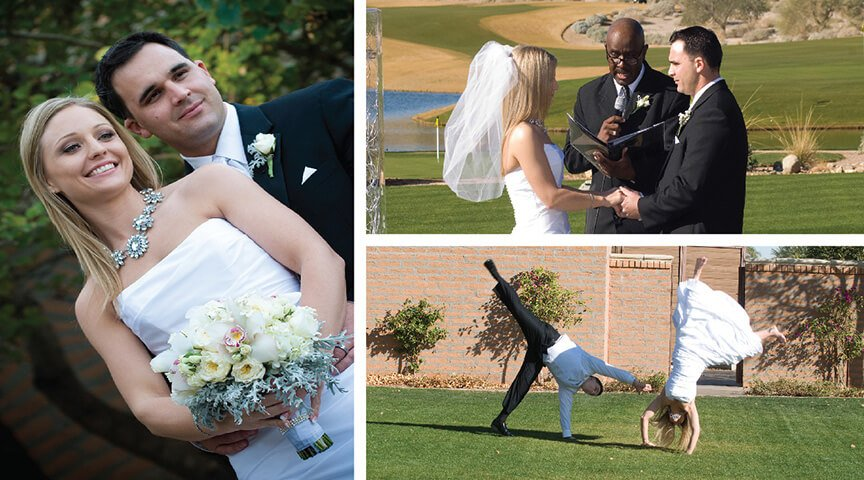 Wedding Photography at Verrado Golf Club