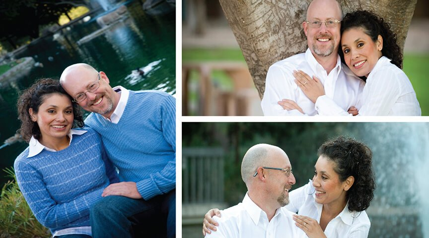 Engagement Portrait at A Special Park in Tempe