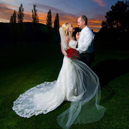 Bride and Groom Sunset | Sedona | Instagram Link