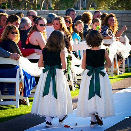 Flower Girls Wedding | Instagram Link