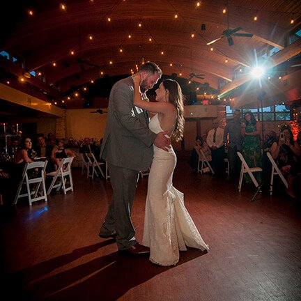 Bride and Groom Dancing | Ocotillo Country Club | Chandler | Instagram Link