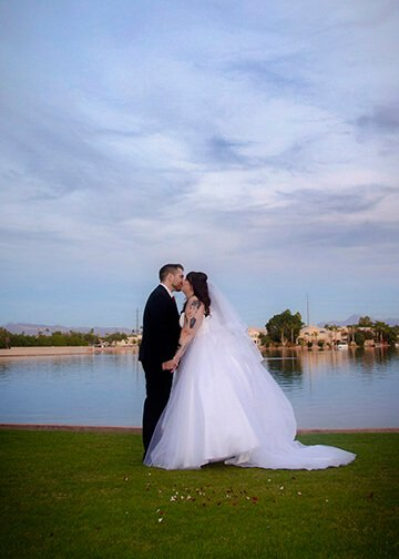 Val Vista Lakes Wedding Photographer