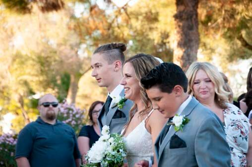 Beth and Andy's Wedding at Ocotillo Golf Club