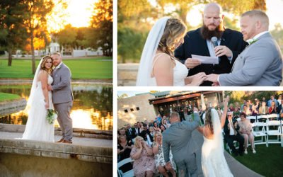 Beth and Andy's Wedding Photography Ocotillo Golf Club